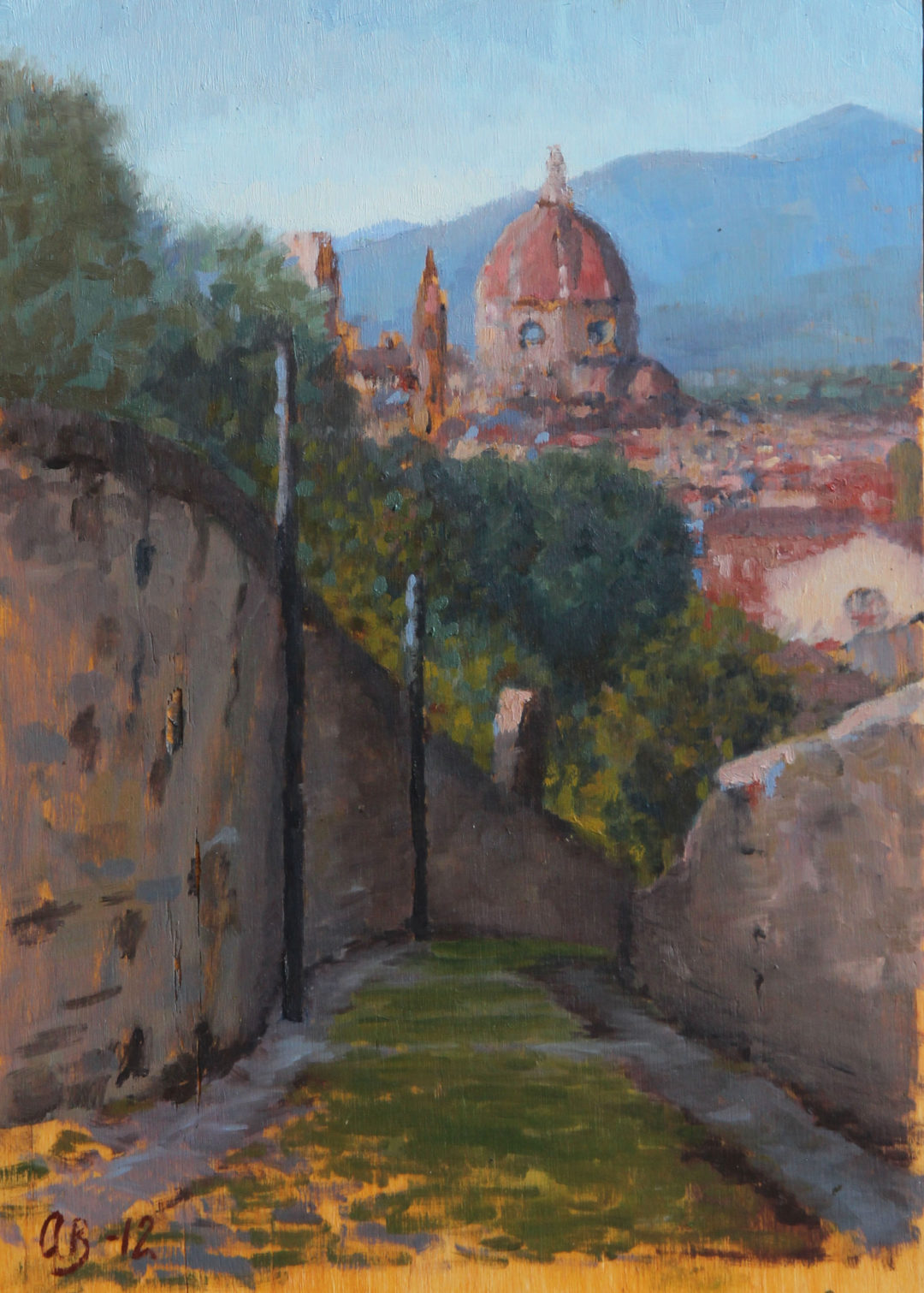Firenze, Duomo, from via dell'Erta Canina