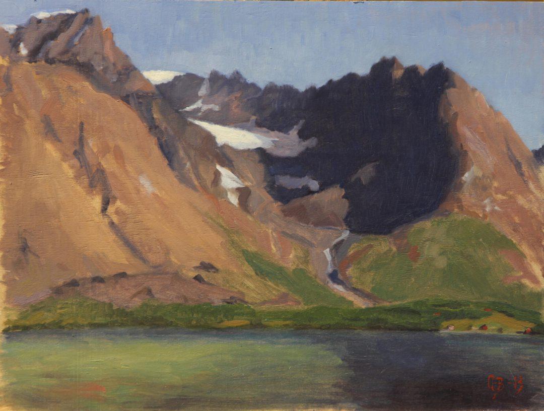 Holmbukt fra Sjursnes