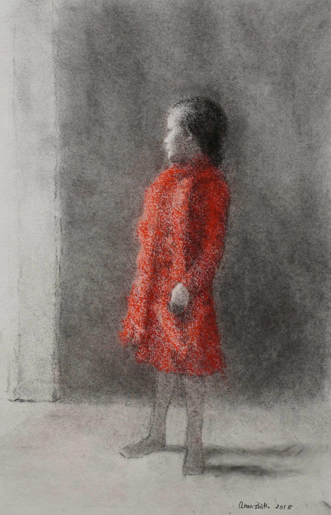 Jente i Rødt