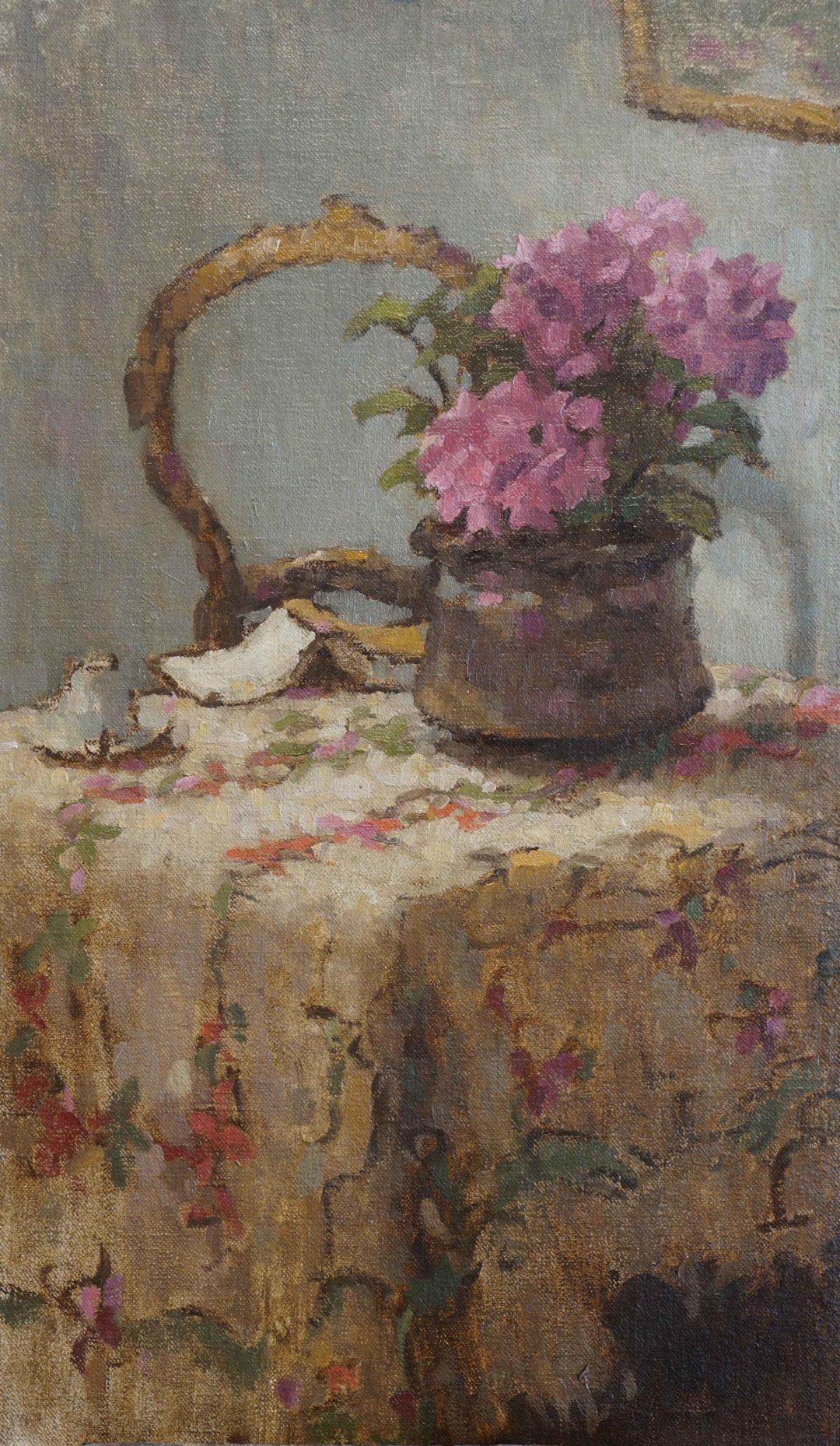 Stillife on my Italian tablecloth